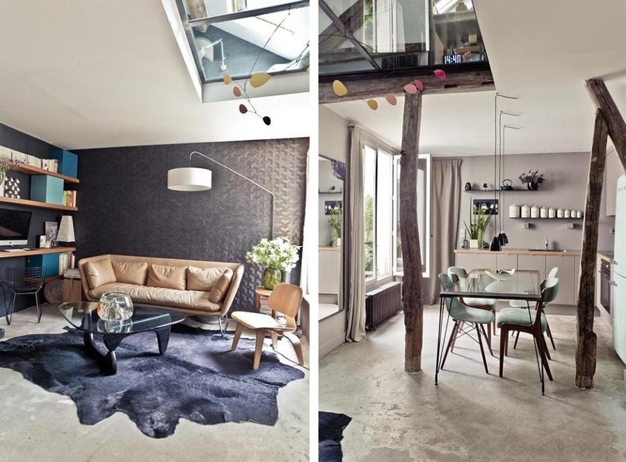 Suelos de cemento para casas con personalidad ideas decoradores - Suelos para casas ...