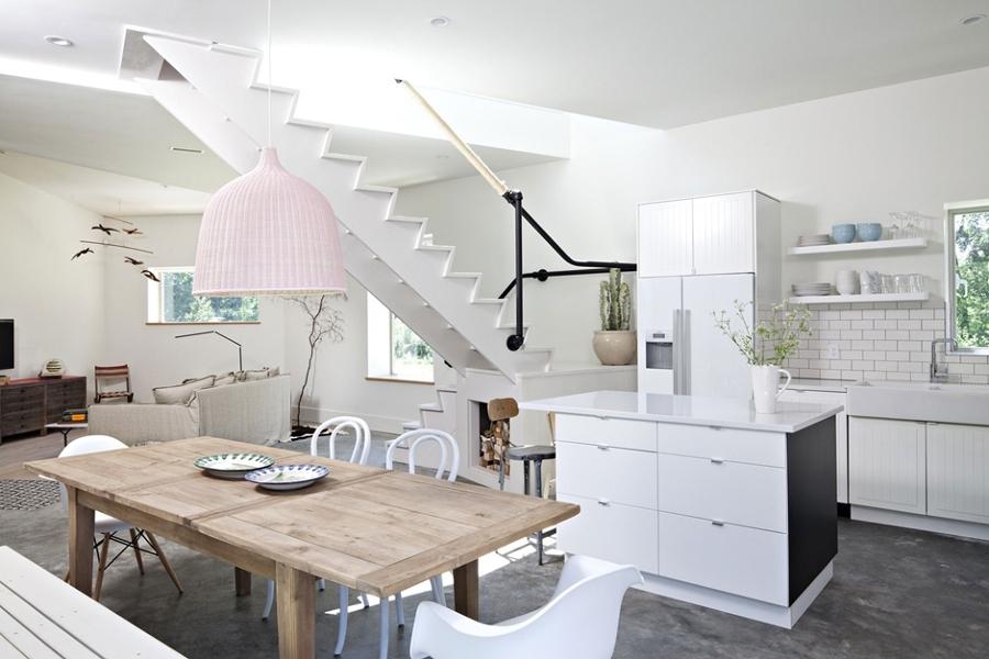 Suelos de cemento para casas con personalidad ideas - Suelos para cocinas industriales ...