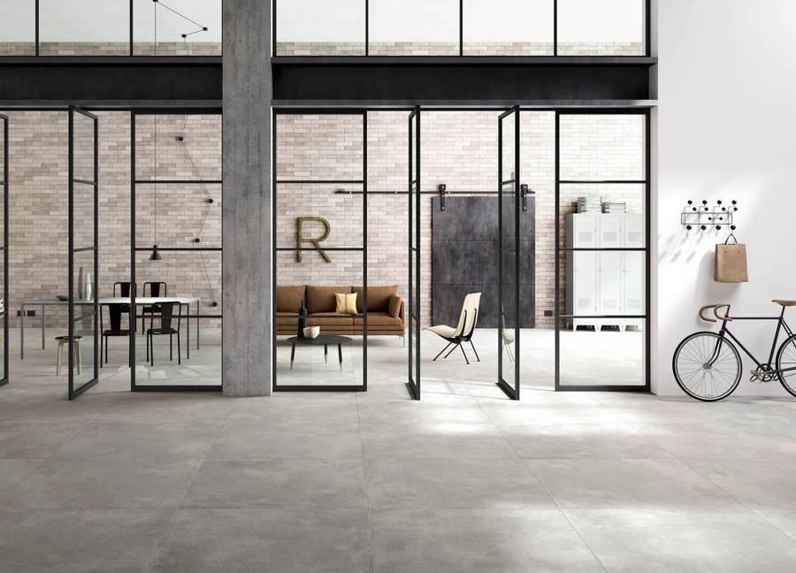 Suelos de cer mica gres porcel nico y azulejo ideas for Suelo economico para interior
