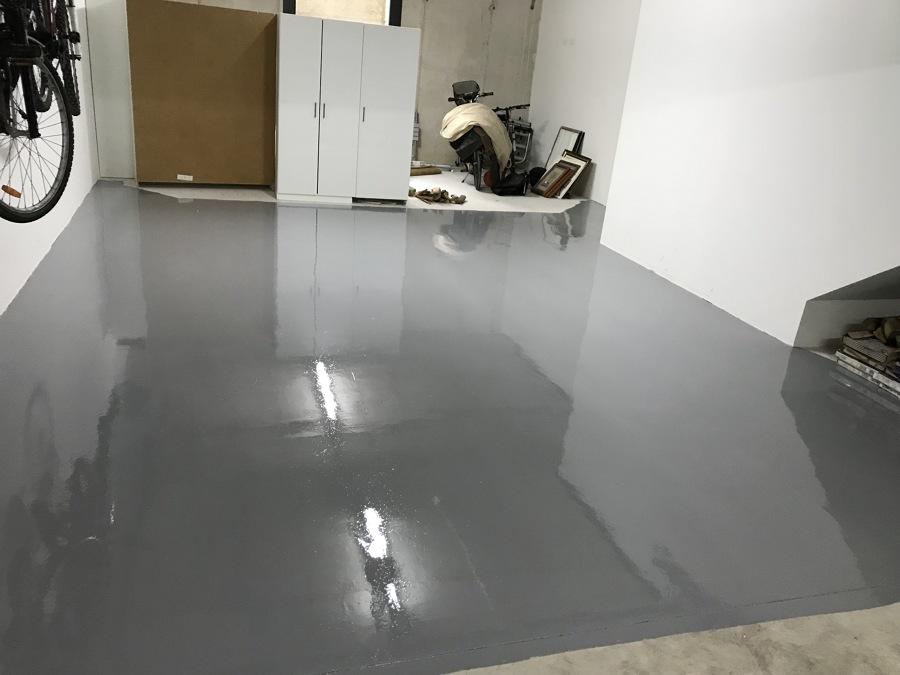 suelo de garage en epodi