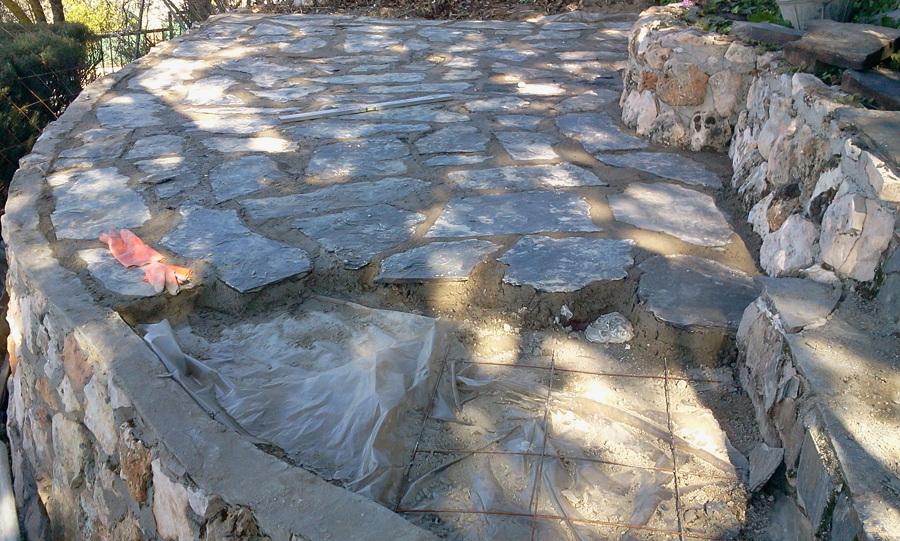 Suelo de piedra ideas construcci n muros - Piedra natural para suelos ...