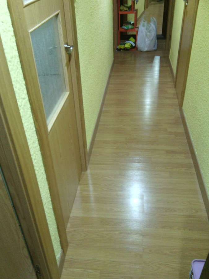 Cambia el suelo y las puertas de tu casa ideas carpinteros - Suelos de roble ...