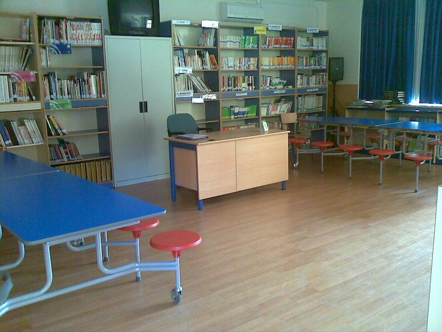 Suelo laminado en biblioteca ideas parquetistas for Suelo laminado sevilla