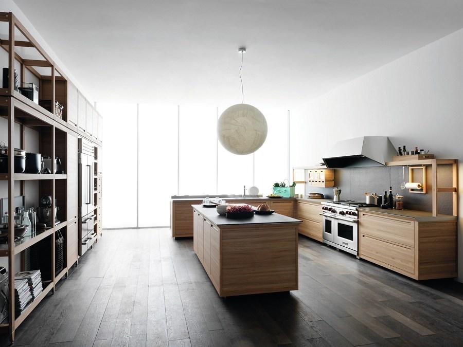 suelo laminado en cocina