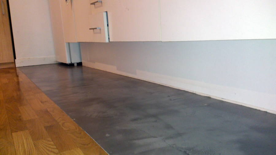 Reforma de cocina con microcemento ideas reformas cocinas - Microcemento sobre azulejos ...