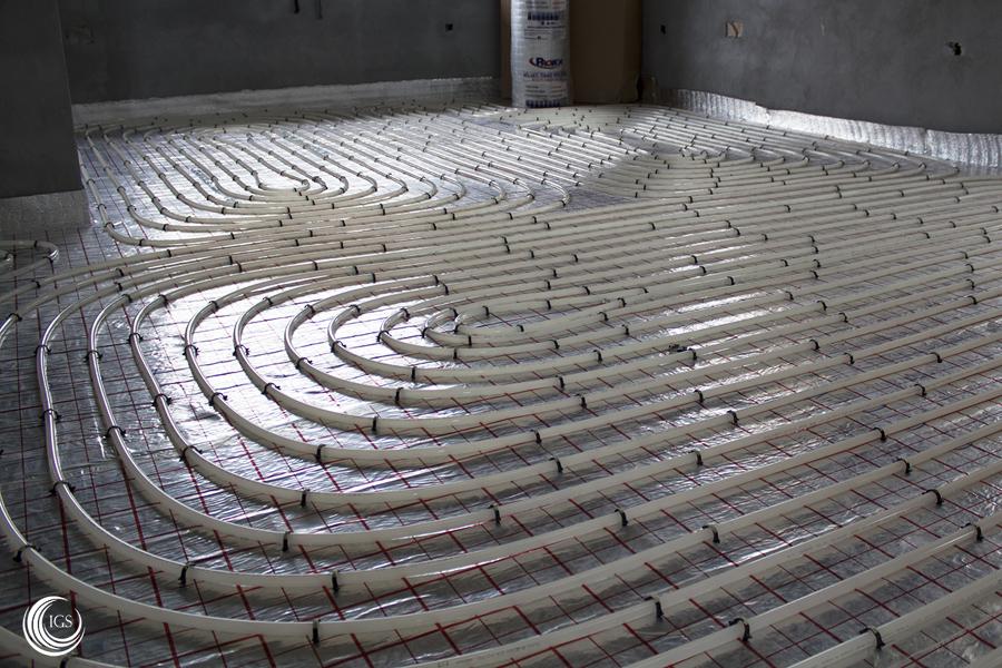 Aerotermia con suelo radiante en vivienda unifamiliar for Presupuesto suelo radiante