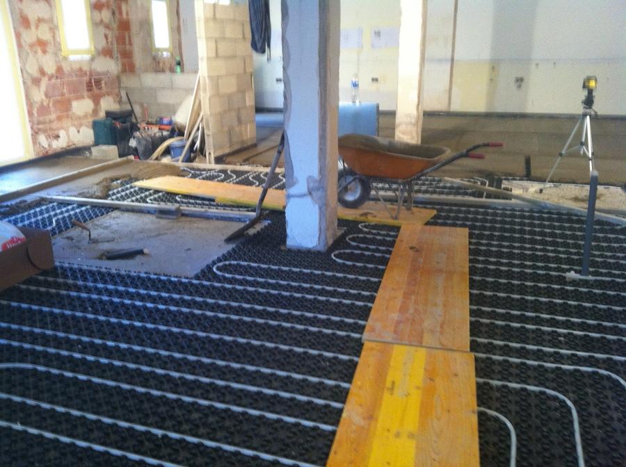 Como instalar suelo radiante por agua finest beautiful - Como instalar suelo radiante ...