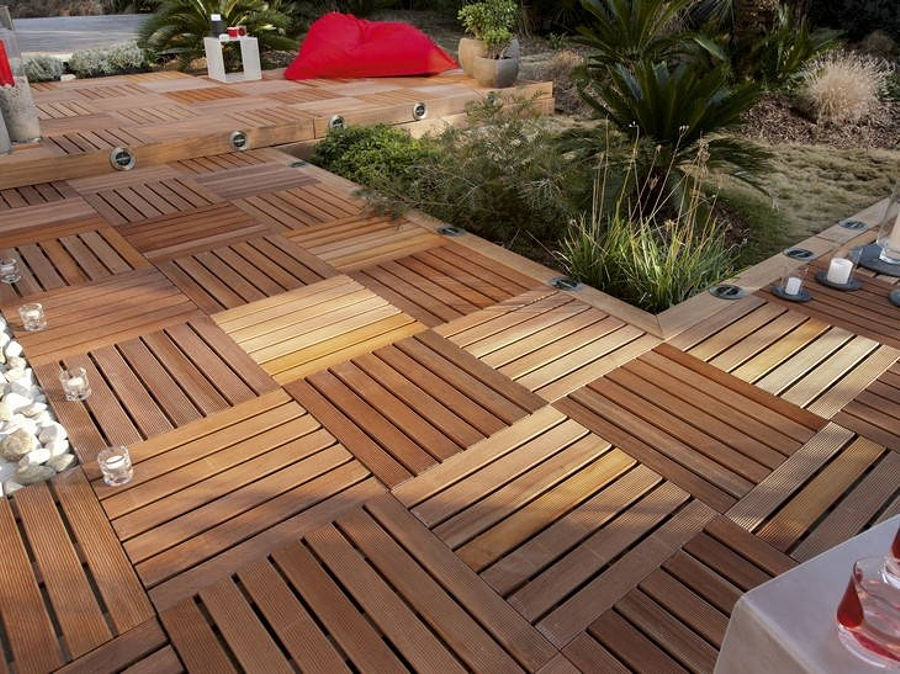 Qu tipo de suelo de terraza necesitas ideas decoradores for Tipos de loseta para patio