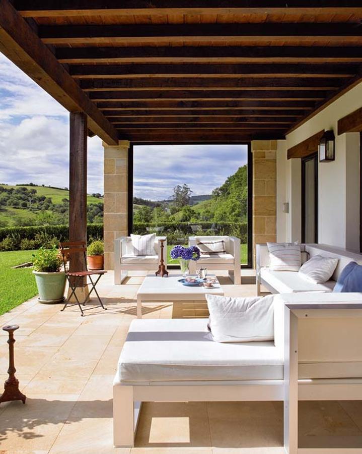 Qu tipo de suelo de terraza necesitas ideas decoradores - Losas para exterior ...