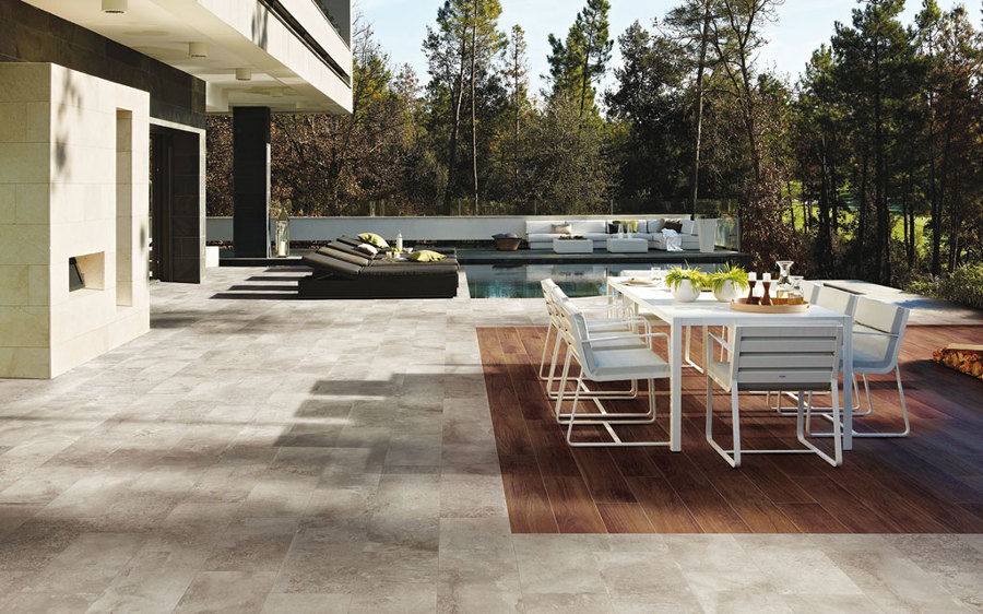 suelos de exterior de una terraza
