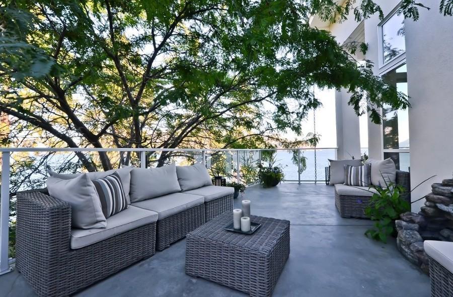 Qu tipo de suelo de terraza necesitas ideas decoradores - Aplicacion de microcemento en paredes ...