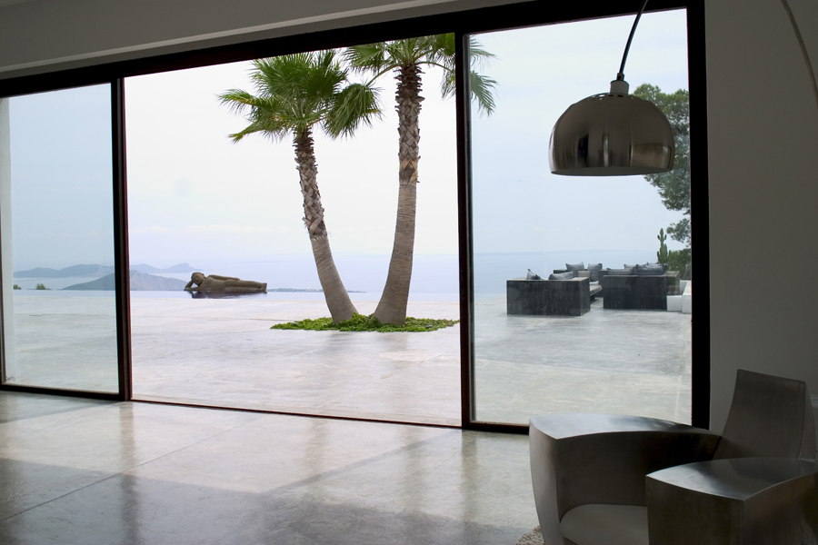 Qu tipo de suelo de terraza necesitas ideas decoradores - Suelo de microcemento pulido ...