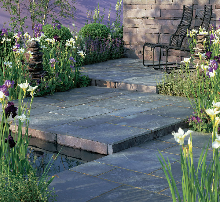 Qu tipo de suelo de terraza necesitas ideas decoradores for Pavimentos para jardines exteriores