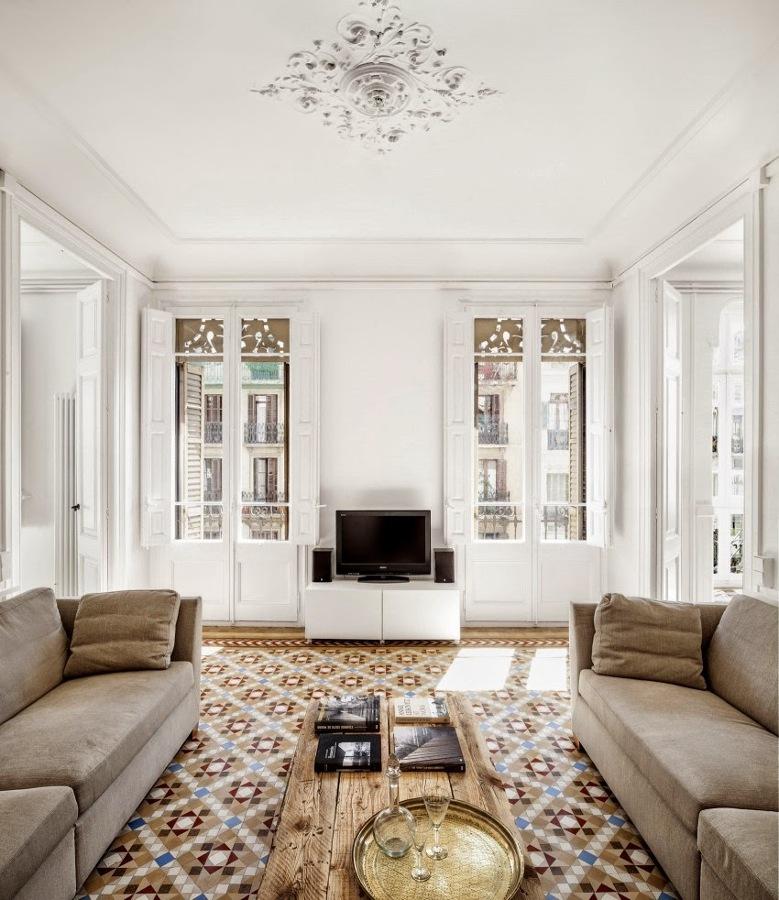 El revival de las baldosas hidr ulicas ideas decoradores for Reformas de pisos antiguos