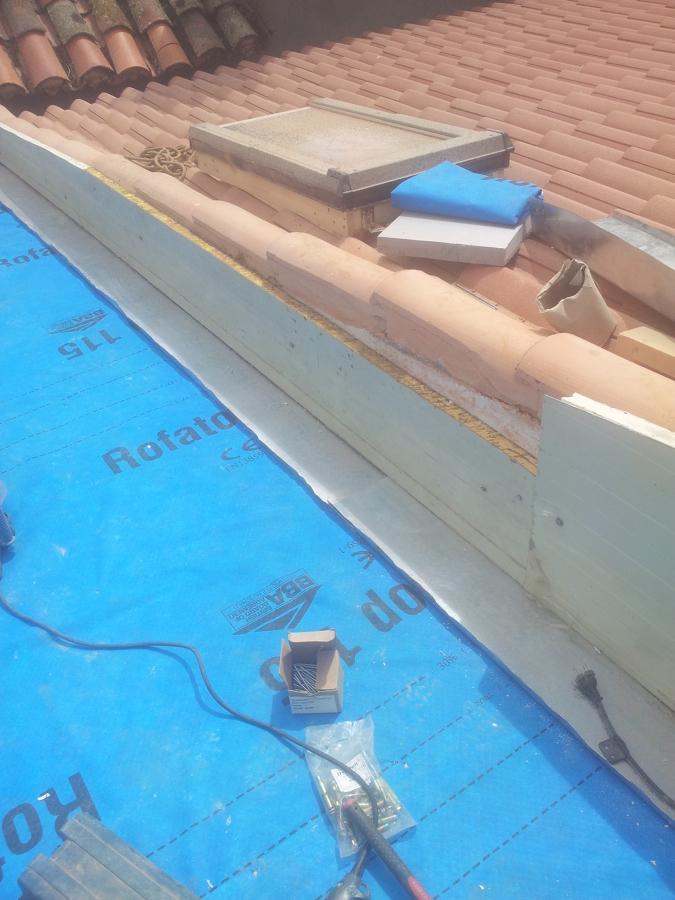 Foto suministro de lamina impermeable de garrido - Cano materiales de construccion sl ...