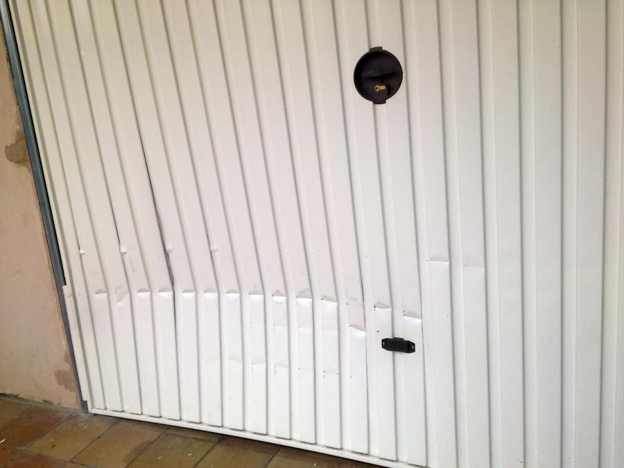 Sustituci n de puerta de garaje residencial ideas - Proyecto puerta de garaje ...