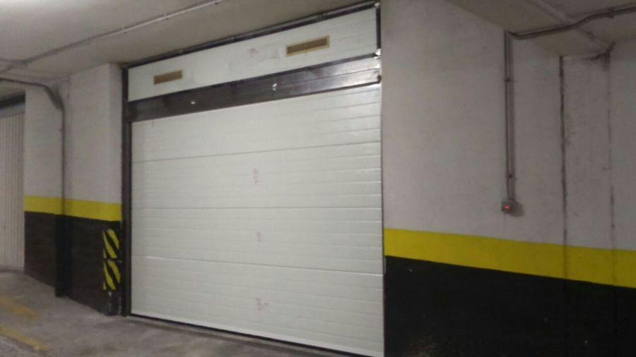 Sustitucion de puerta interior de garaje proceso