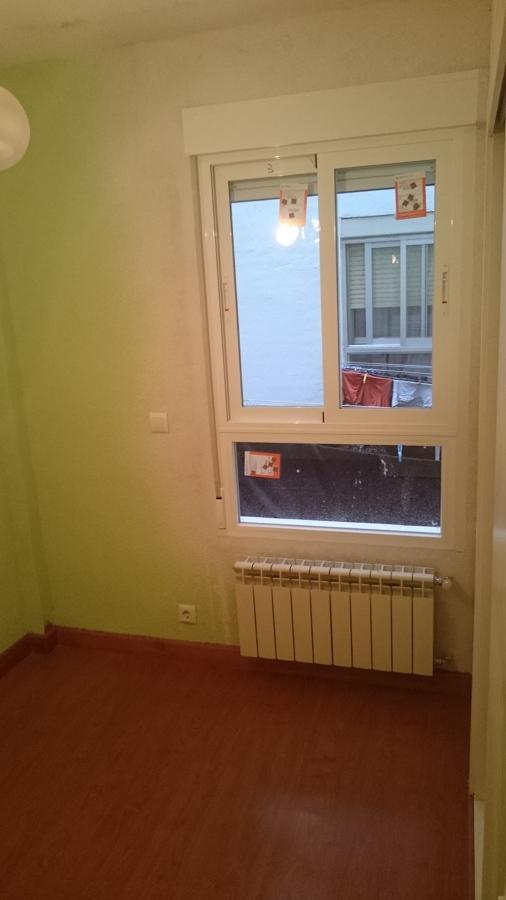 Sustitución de ventanas de aluminio y calefacción