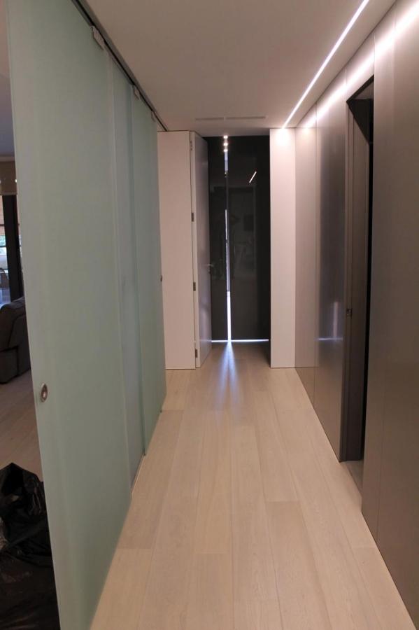 Reforma de vivienda en zona de avenida cortes valencianas - Tabiques de cristal para viviendas ...