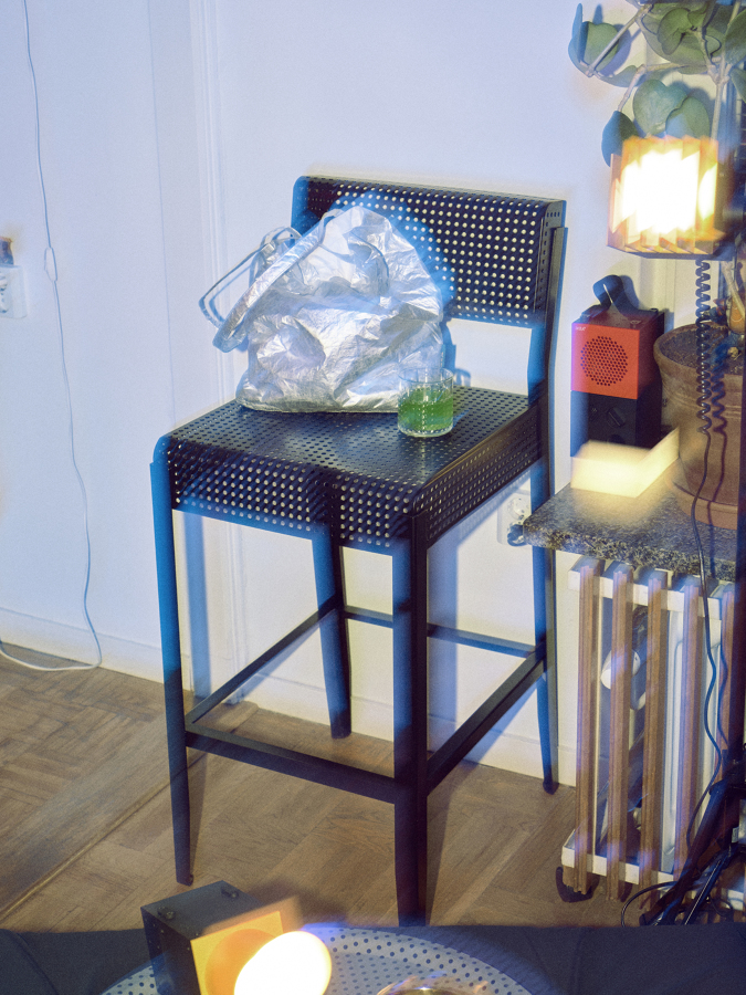Taburete alto edición limitada FREKVENS IKEA