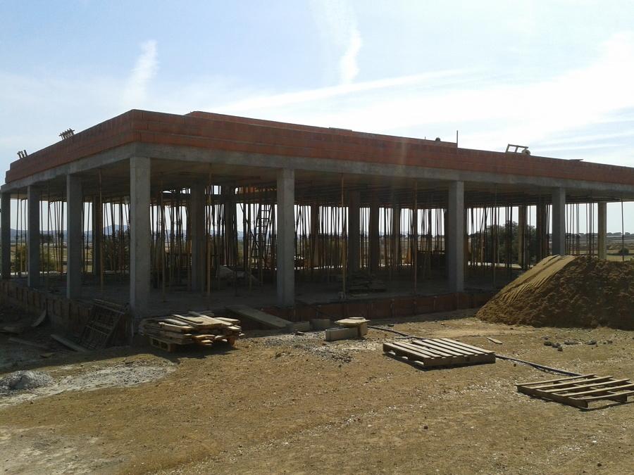 Tanatorio en fase de construcción