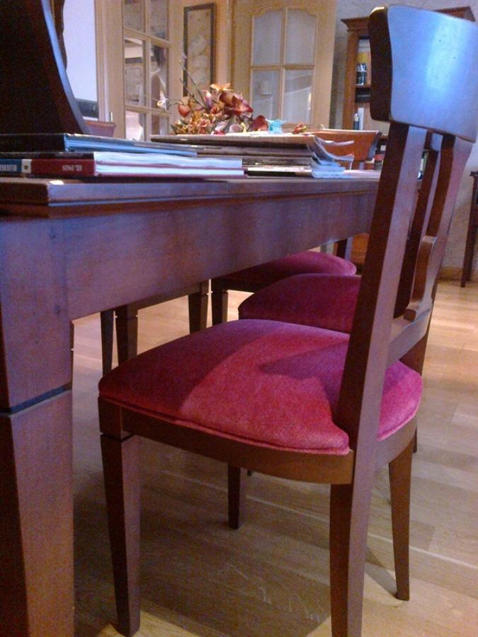 Foto tapizar sillas de comedor de serranos studio 829246 - Tapizar sillas de comedor ...