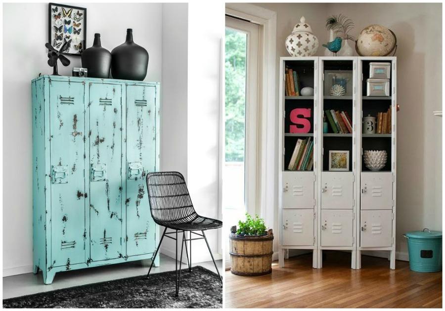 Las taquillas no son solo para el cole ideas muebles - Muebles restaurados online ...