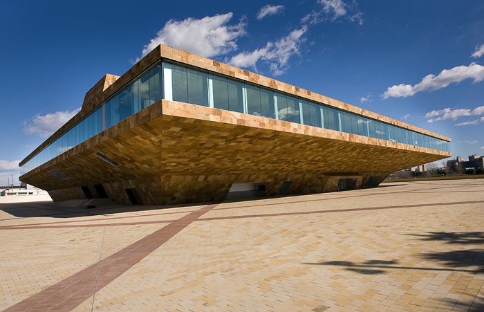 Teatro de la llotja de lleida ideas construcci n edificios for Oficina empleo lleida