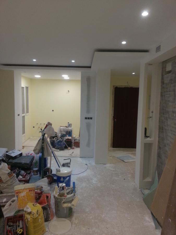 techo acabado y pintado