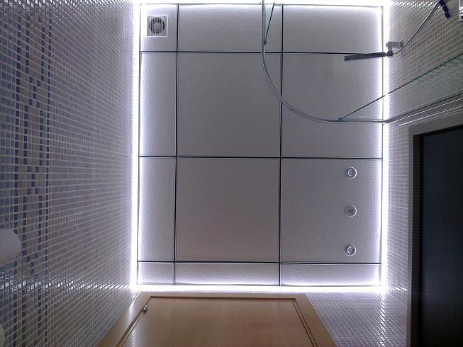 techo con iluminacion led