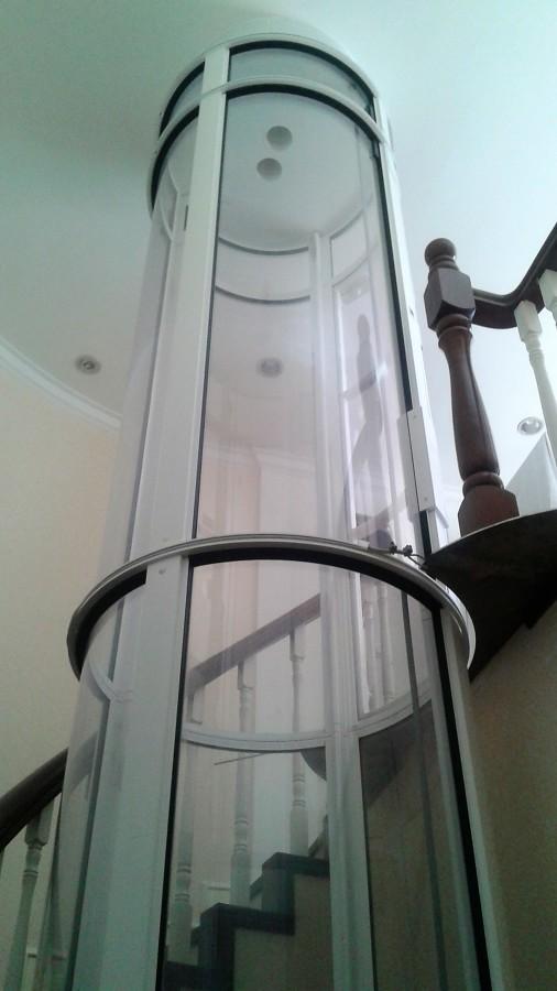 techo del elevador