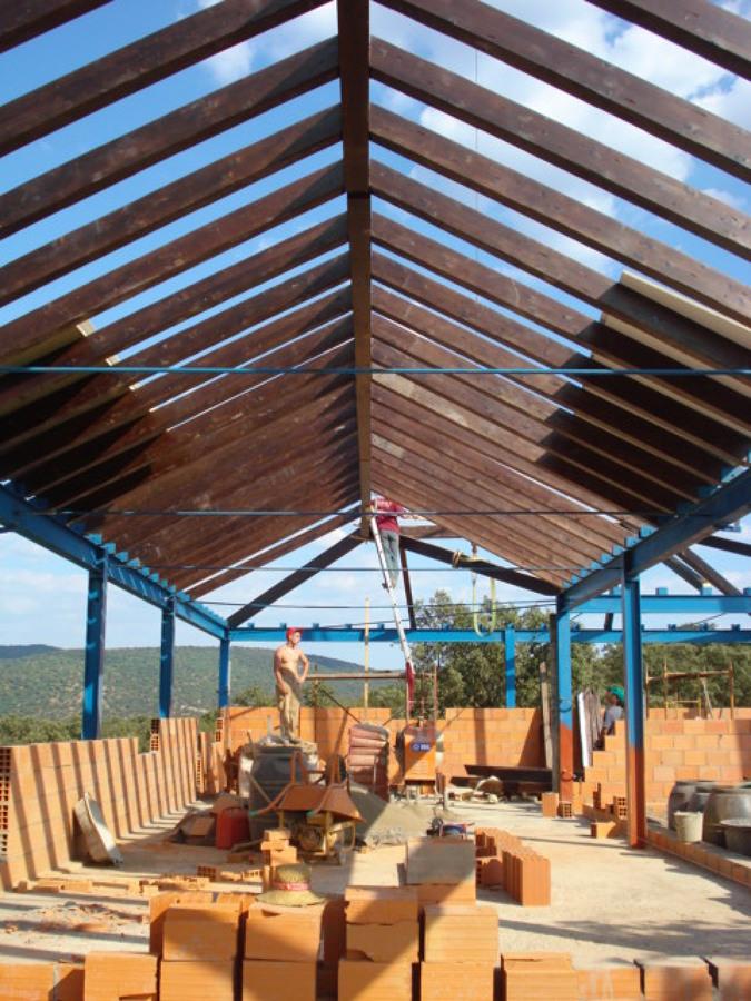 Techo en madera en portugal ideas construcci n casas - Casas de madera en portugal ...