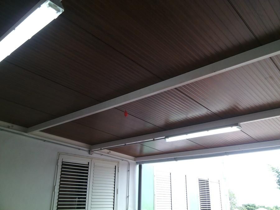 foto techo panel sandwich de lancho construcciones y