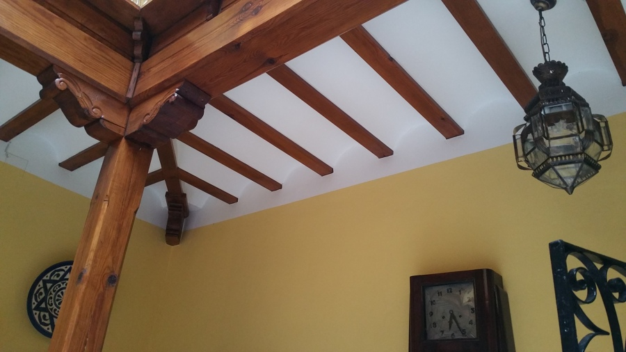 Foto: techo pasillo patio interior de construcciones pedro #828591 ...