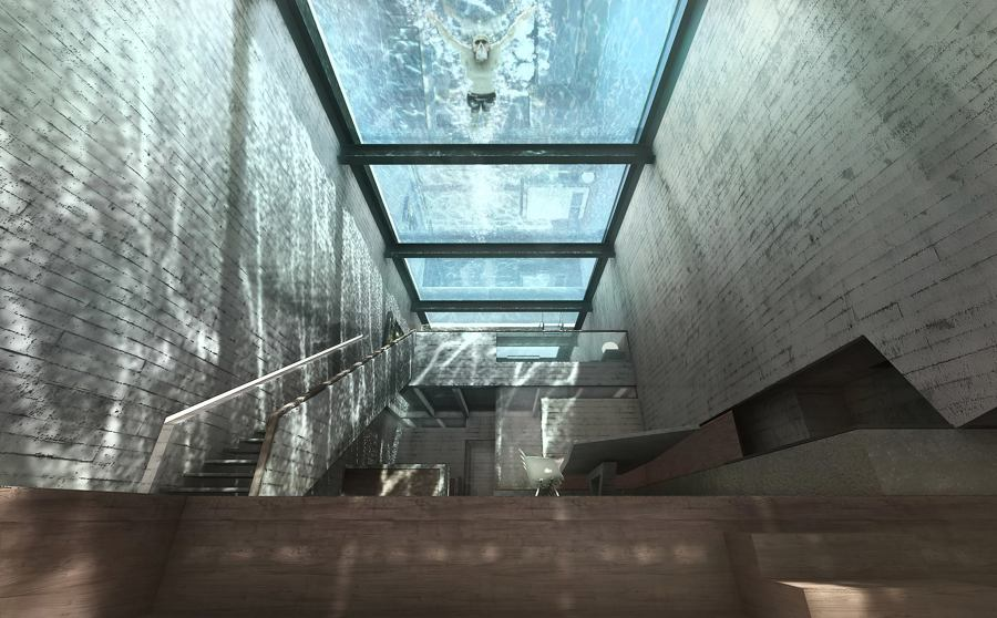 techo piscina