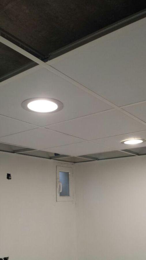 Colocar falso techo registrable y division de pladur - Falso techo registrable ...