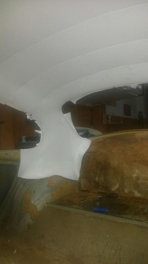 Foto techo terminado de tapicer a maxim 844715 habitissimo - Tapiceros valladolid ...