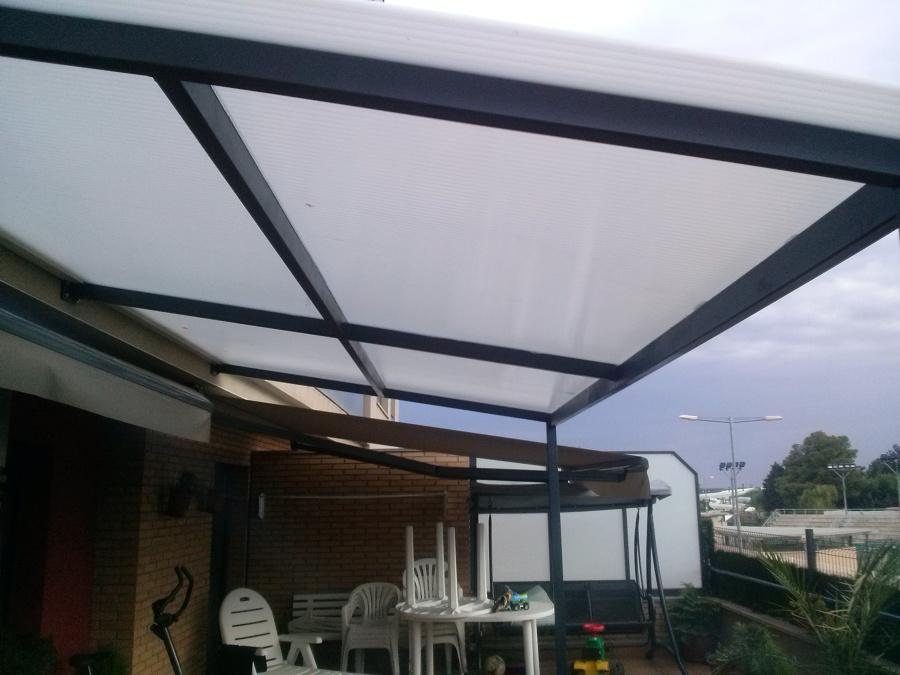 Foto techo terraza policarbonato de la ventana de - Techos de policarbonato precios ...