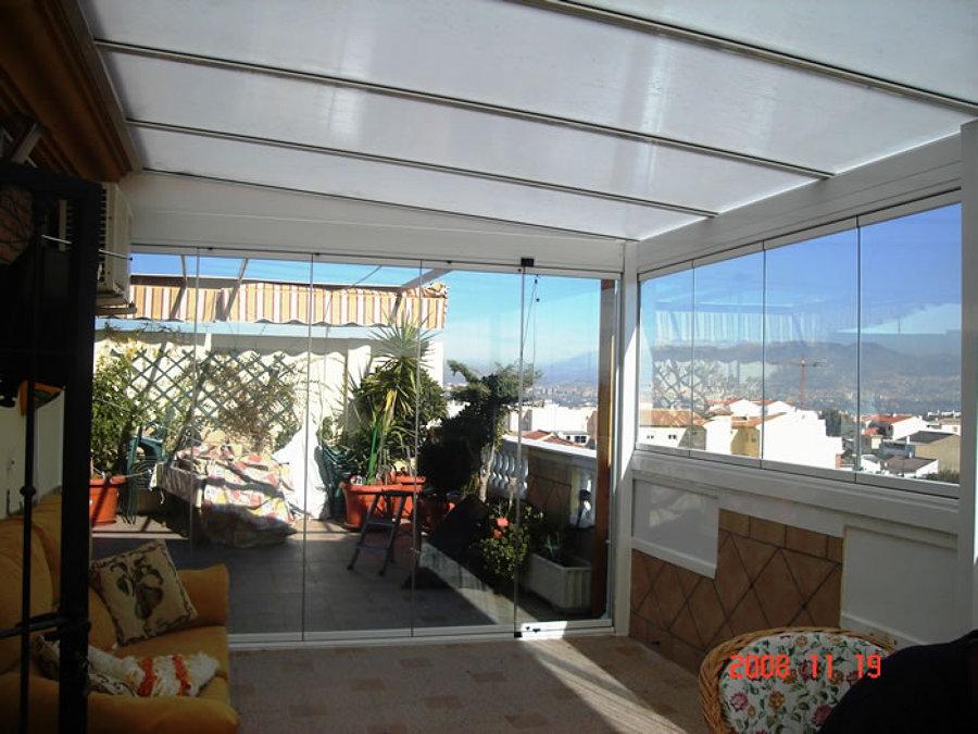 Caracter sticas de los techos corredizos o de vidrio - Cubiertas de cristal para terrazas ...