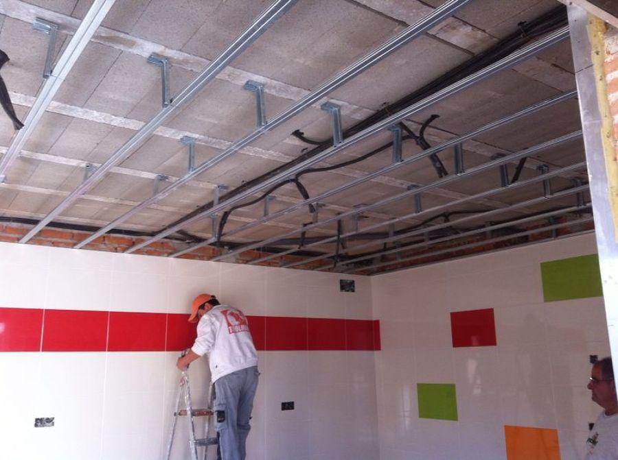 Techos de pladur en una vivienda ventas de retamosa - Poner techo de pladur ...