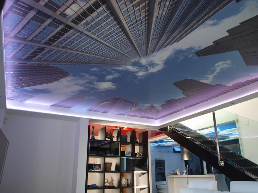 Mirando al cielo techos decorativos ideas decoradores - Techos pladur decorativos ...