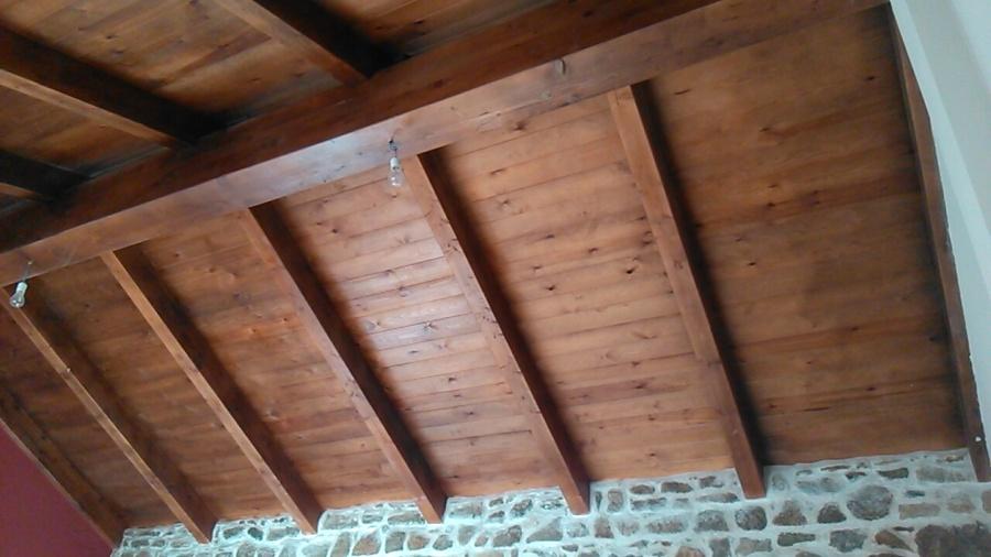 Foto tejado de madera de carpinteria ebanisteria raypi for Tejados de madera en galicia
