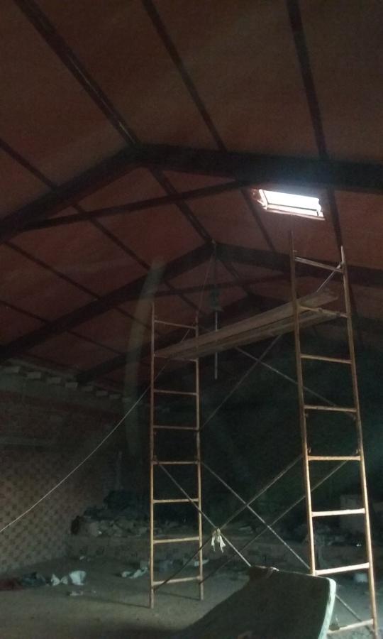 tejado en una  casa  200m2  mas o menos