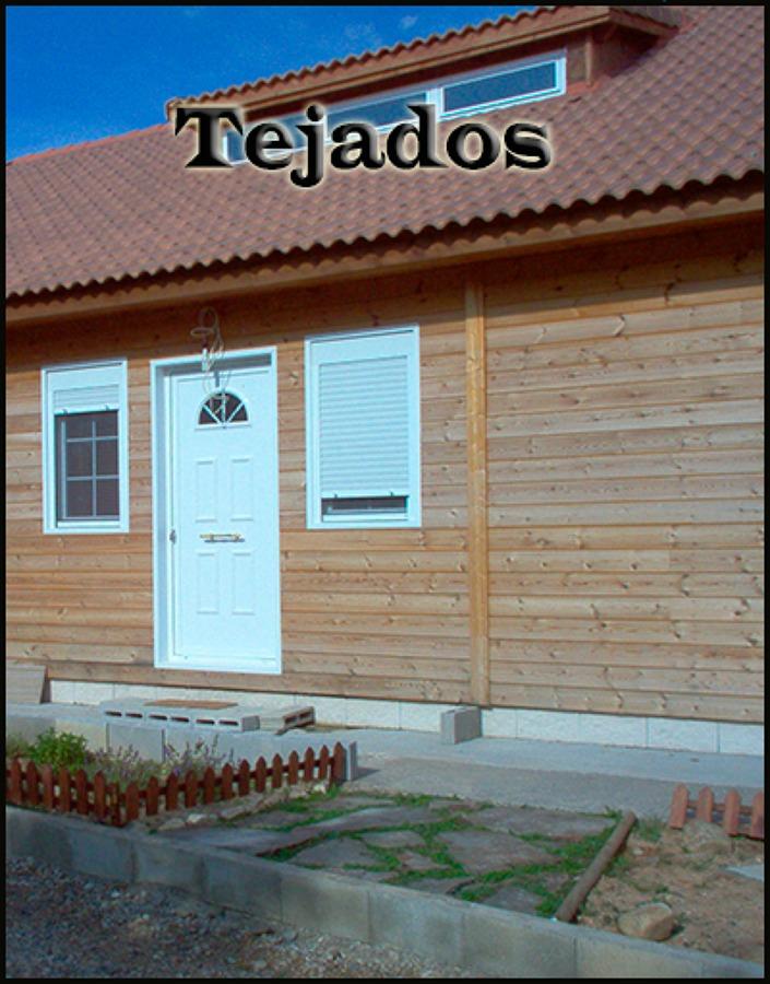 Foto tejados de naturvivienda 863902 habitissimo for Tejados madera segovia