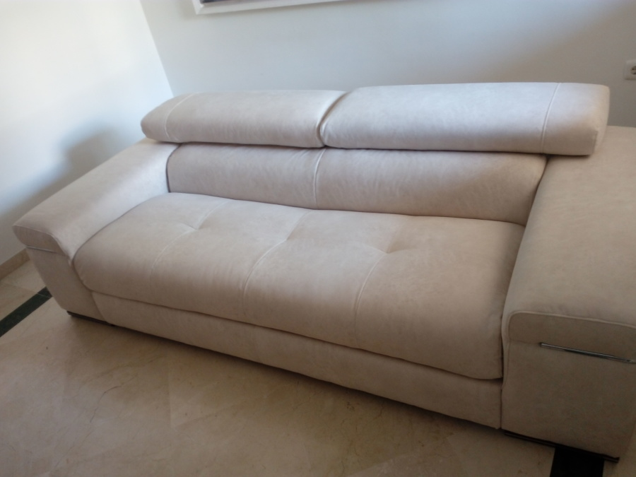 Sof natuzzi retapizado en tejido antimanchas ideas - Sofas natuzzi precios ...