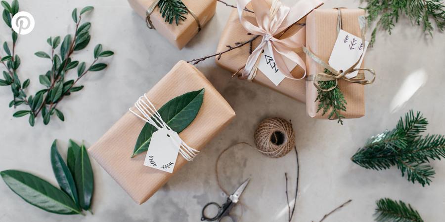 Tendencias Navidad Pinterest packaging regalos