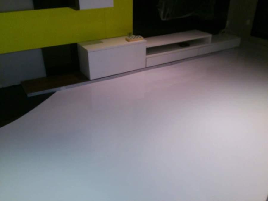 terminación de la resina epoxi blanca