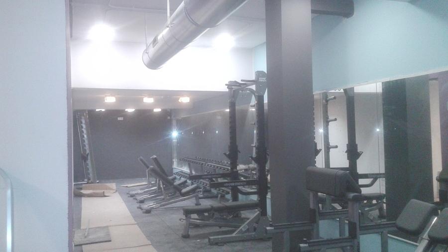 Terminación gimnasio.