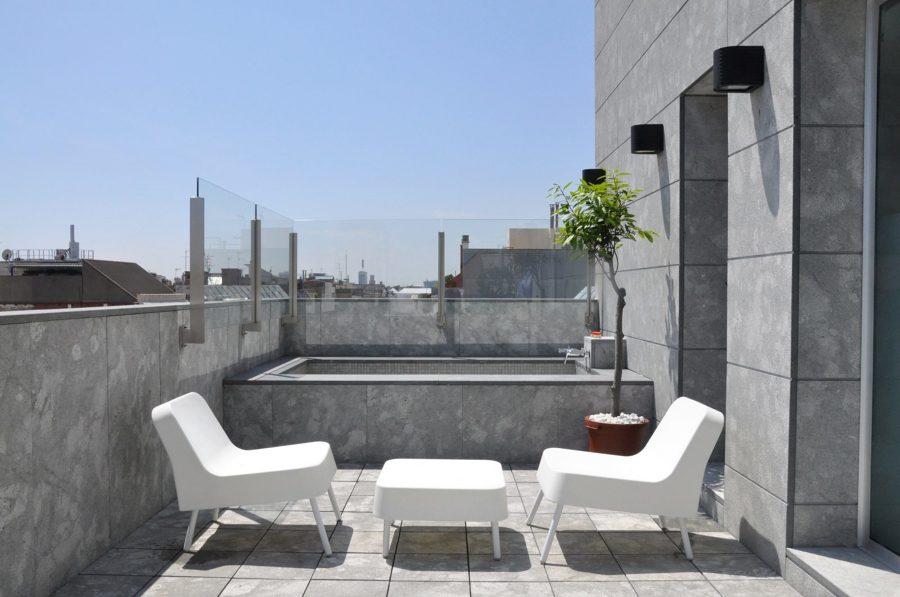 7 ideas de altura que aprendimos de terrazas en ticos - Piscinas para terrazas aticos ...