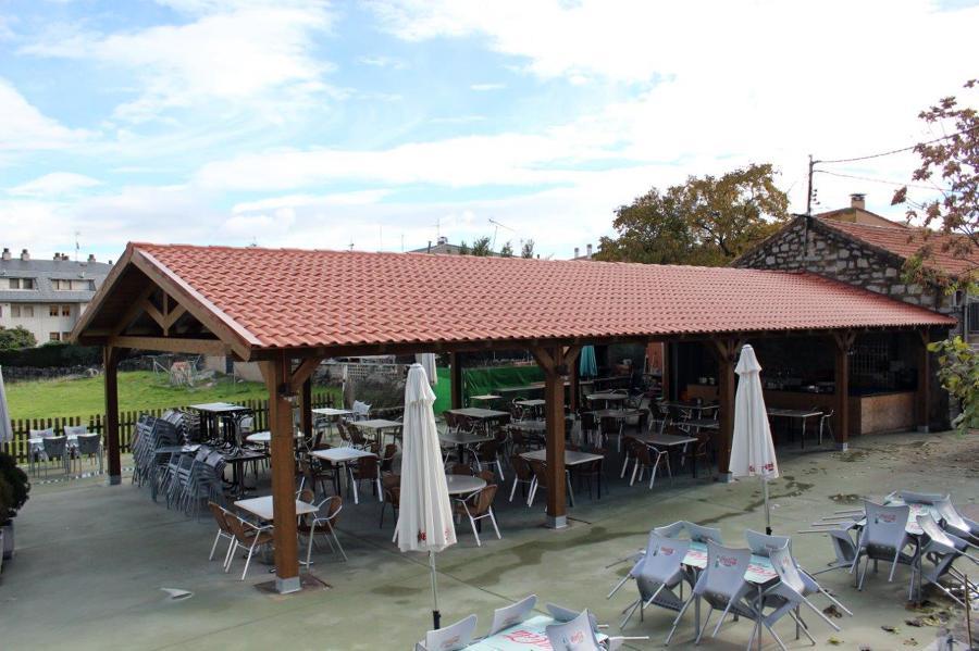 Cubierta bar jotas ideas tejados for Reformar terraza ideas